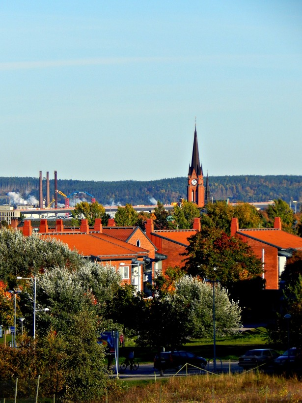 sundsvall skyline